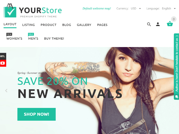 YourStore Shopify Theme
