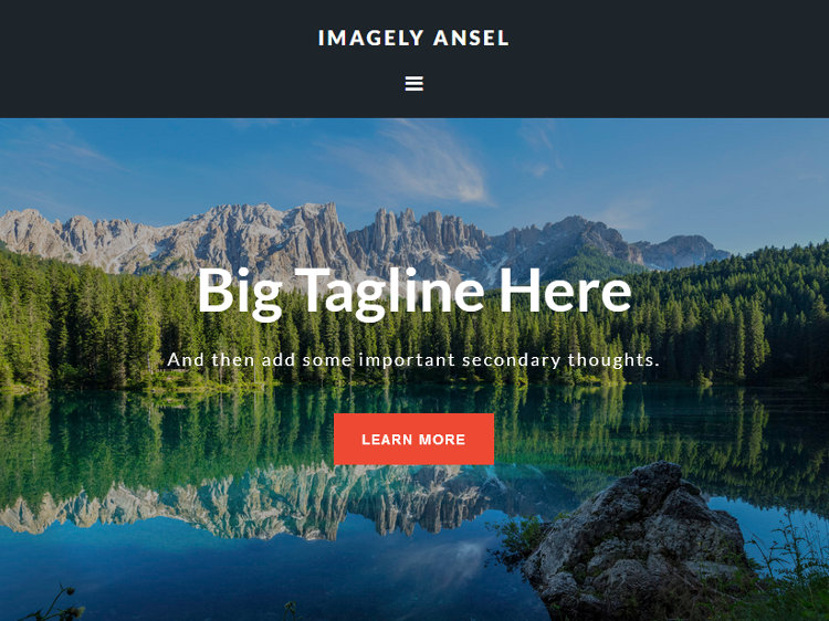 Ansel WordPress Genesis Child Theme