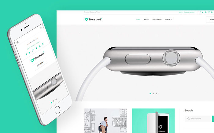 Monstroid 2 Lite Free Multipurpose WordPress Template