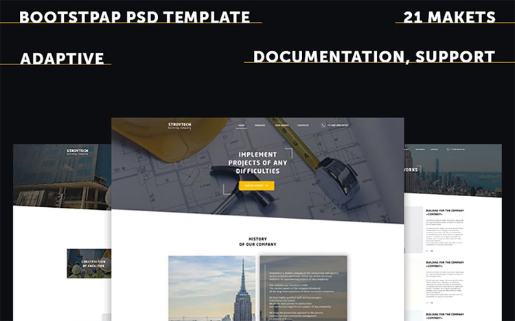 Building Responsive PSD Website Template