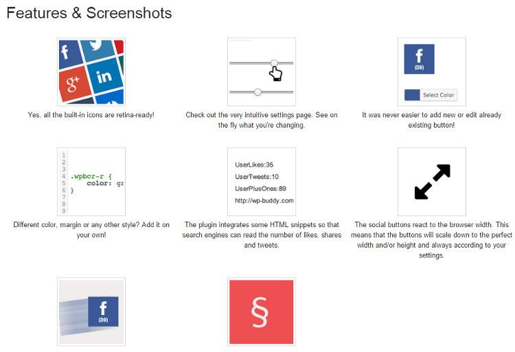Fixed Social Share Buttons WordPress Plugin