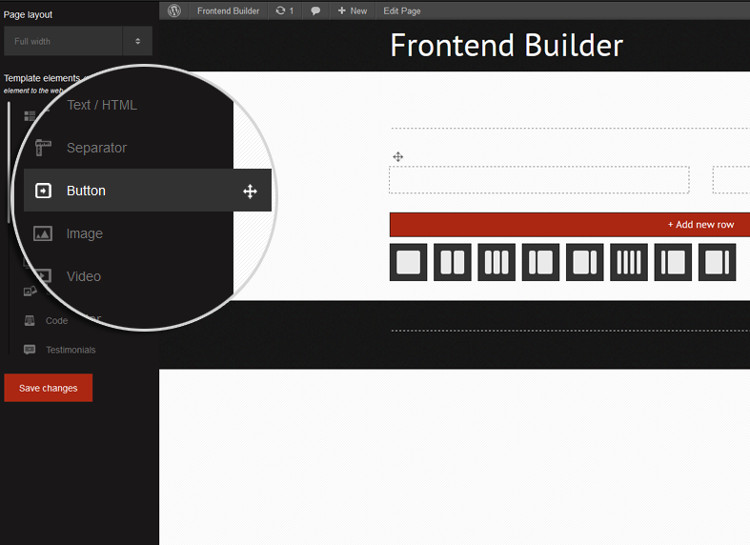 Frontend Builder WordPress Plugin