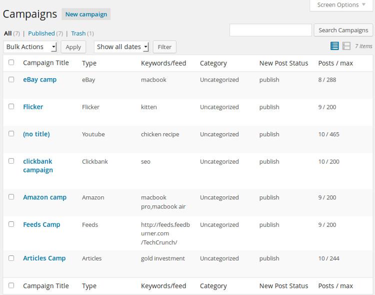 Automatic WordPress Plugin