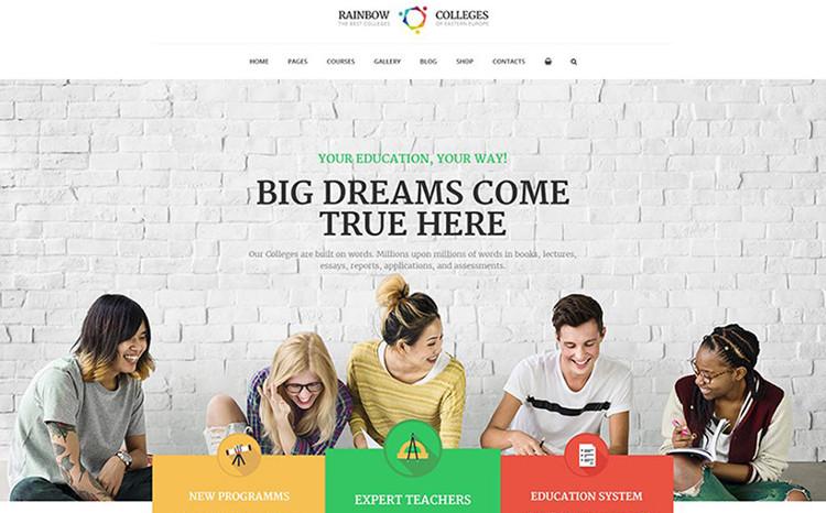 E-Course WordPress Theme