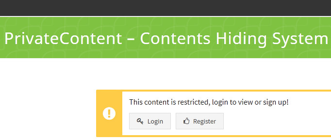 Private Content WordPress Plugin To Restrict Posts For Users