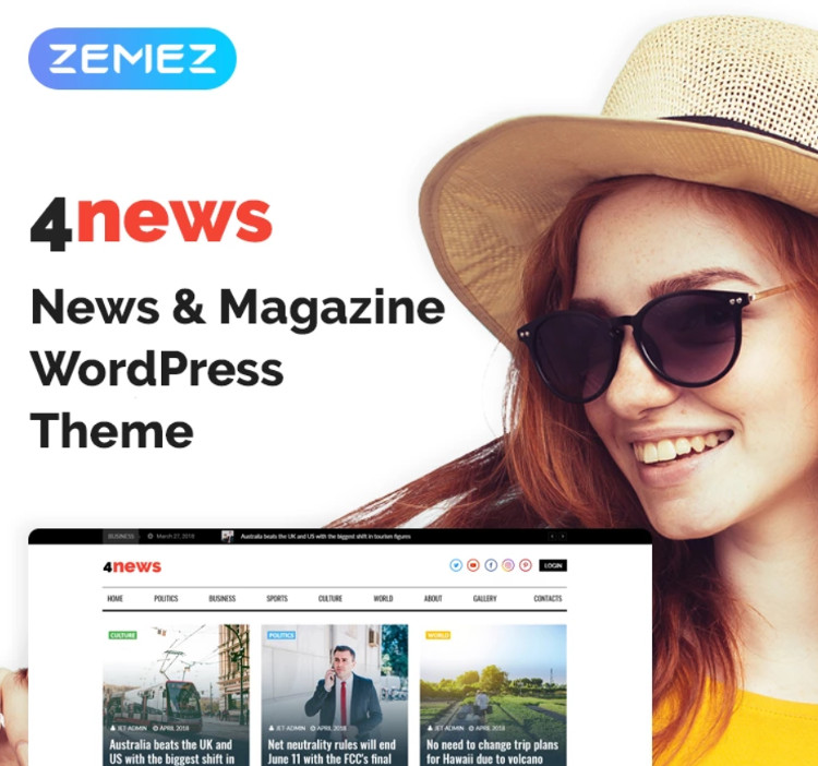 4News WordPress Theme