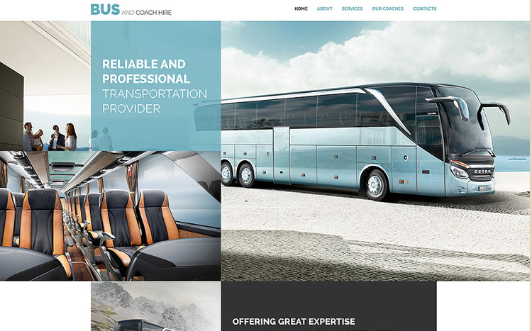 Transport Website HTML5 Template