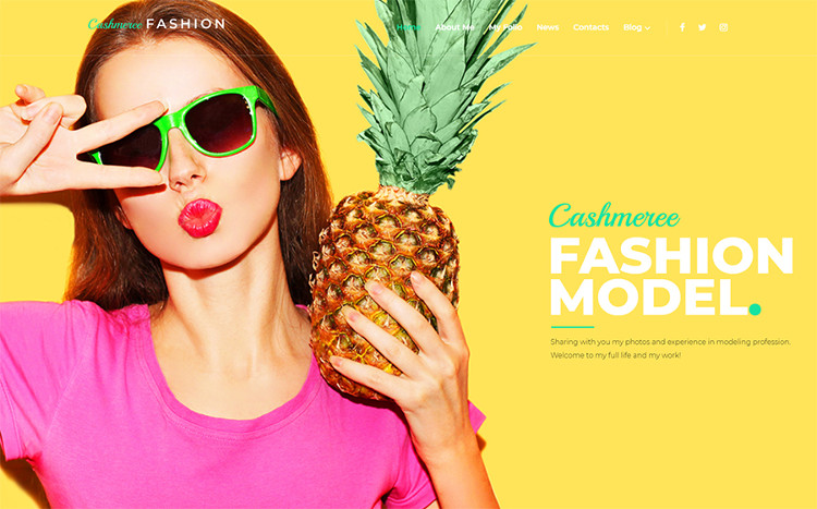 Cashmeree Fashion WordPress Theme
