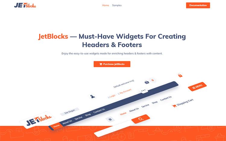 JetBlocks - Elementor Header & Footer Widgets WordPress Plugin