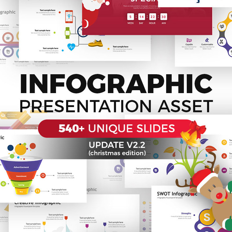 Infographic Pack - Presentation Asset v2.2 PowerPoint Template