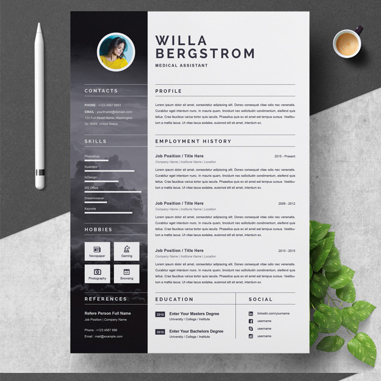 Willa Resume Template