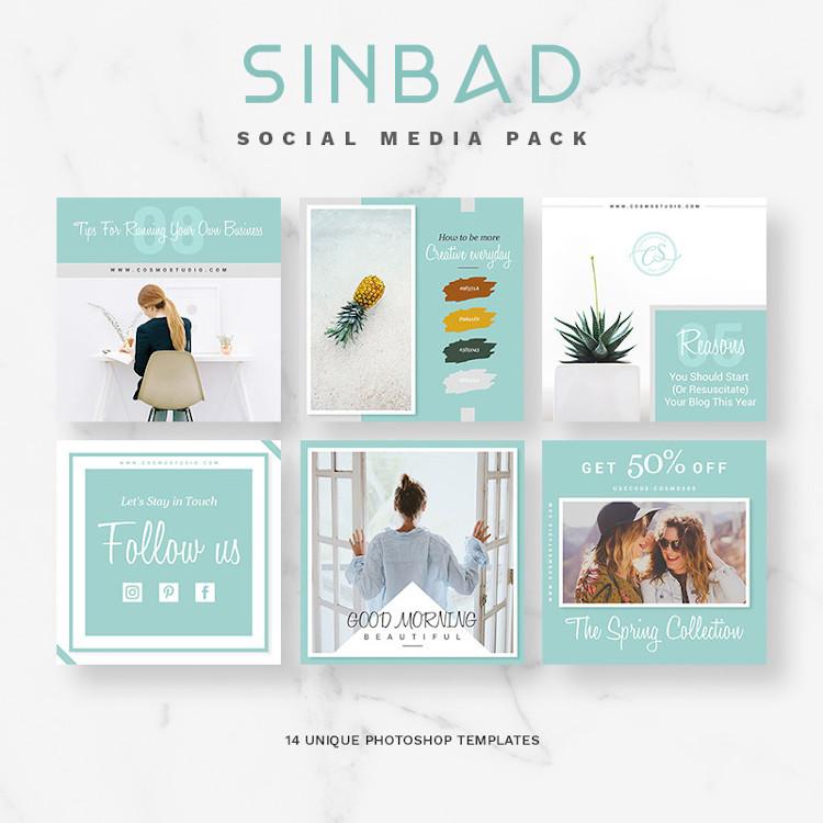SINBAD Social Media Pack