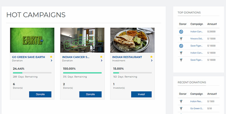 JGive - Donations and Fundraising Solution For Joomla