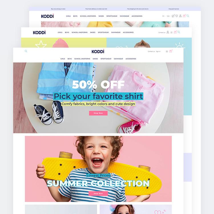 Koddi - Kids Clothes PrestaShop Theme