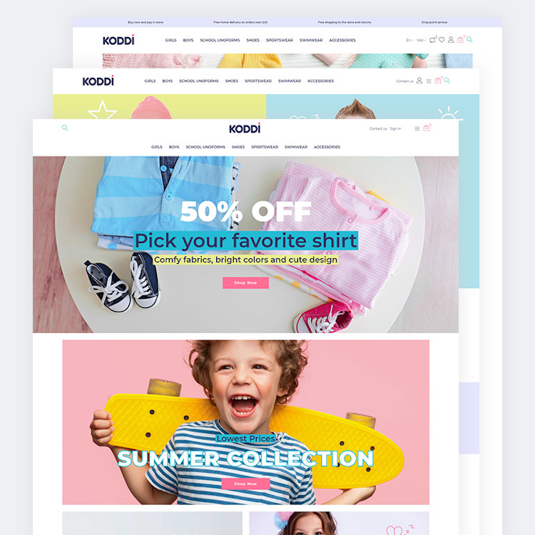 Koddi - Kids Clothes PrestaShop Theme