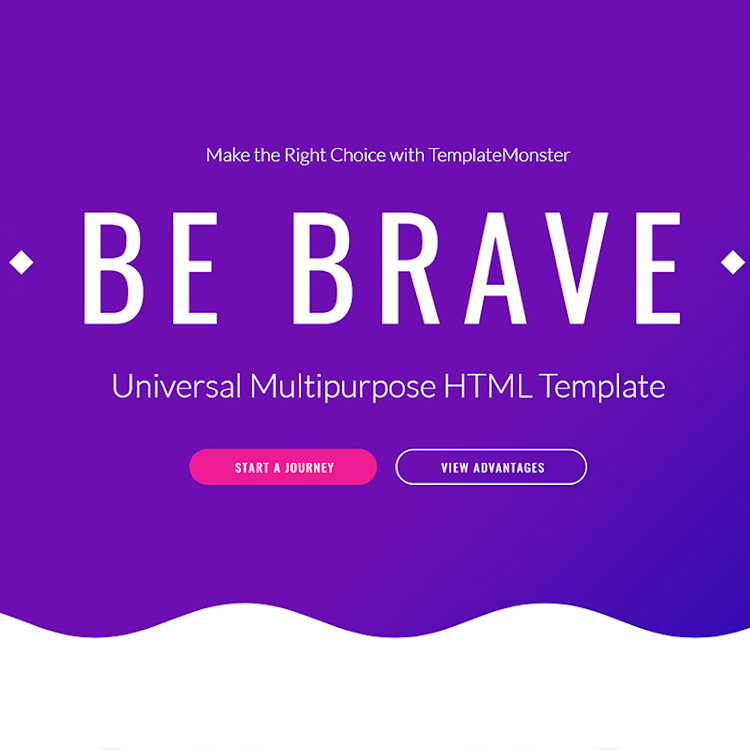Brave HTML5 Template