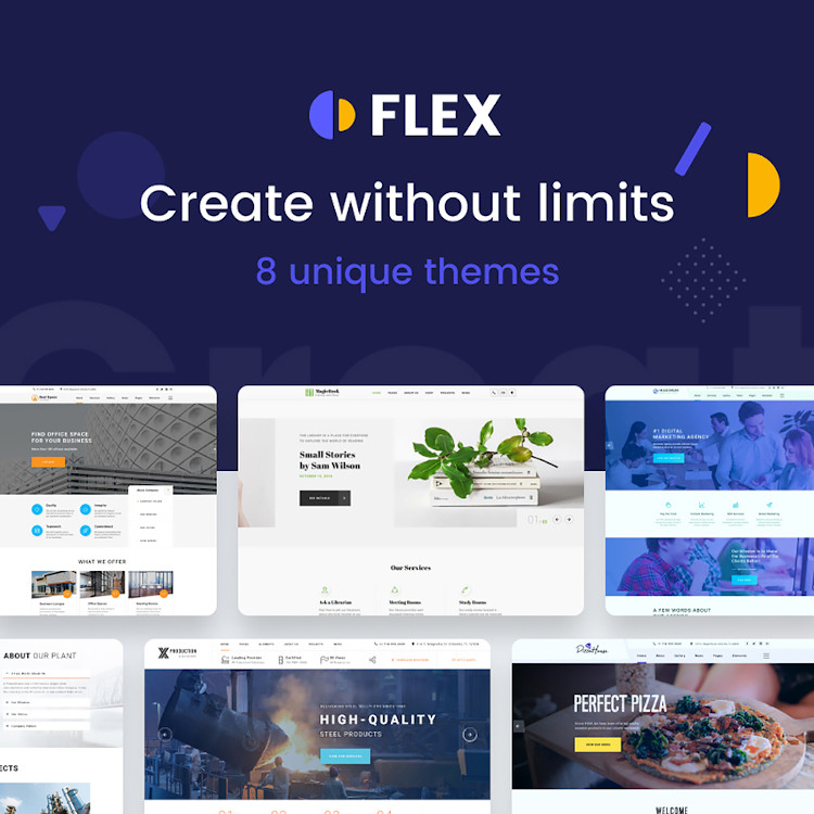 Flex HTML5 template