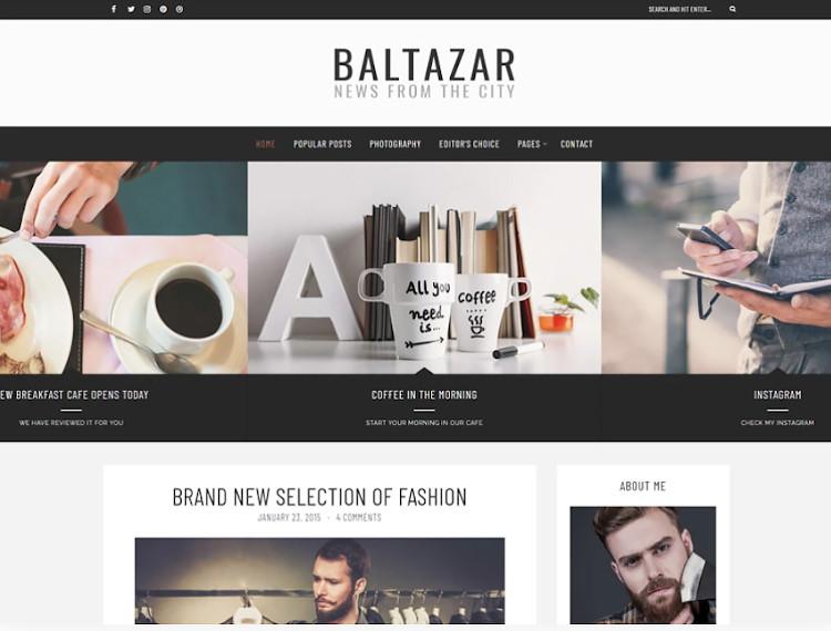 Baltazar WordPress theme