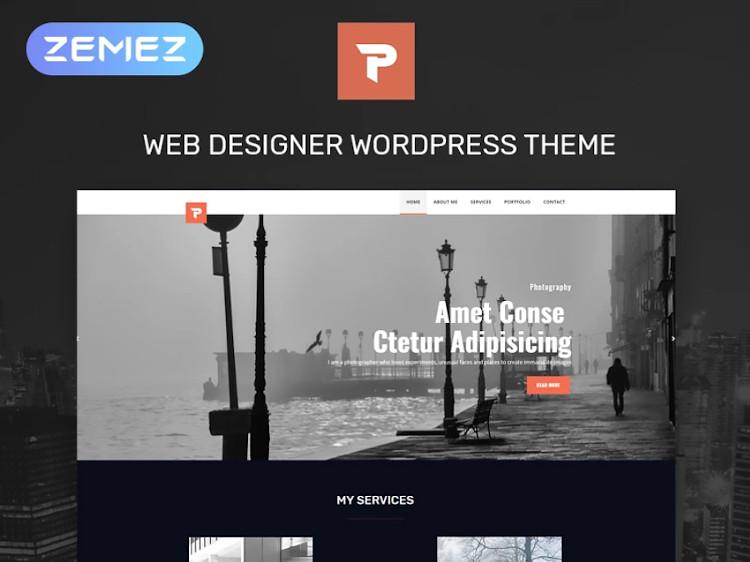 Personalus WordPress theme