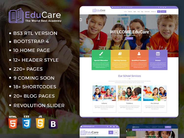EduCare HTML5 Template
