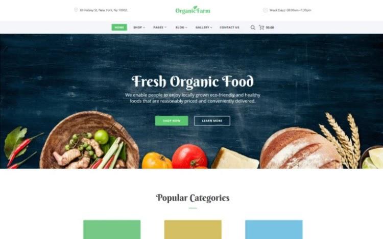 Organic Farm HTML5 Template