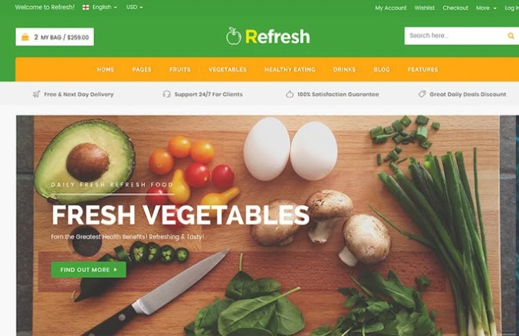 Refresh HTML5 Template