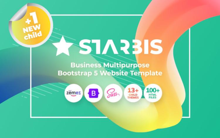 Starbis Business HTML5 Website Template