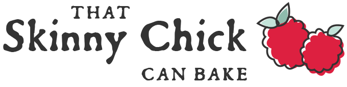 That Skinny Chick Can Bake Logo