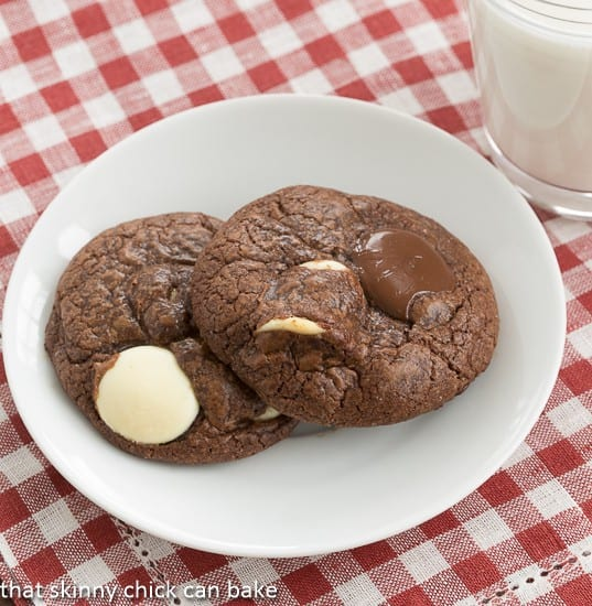 Brownie Drop Cookies   That Skinny Chick Can Bake