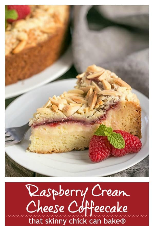Raspberry Cream Cheese Coffeecake Pinterest collage