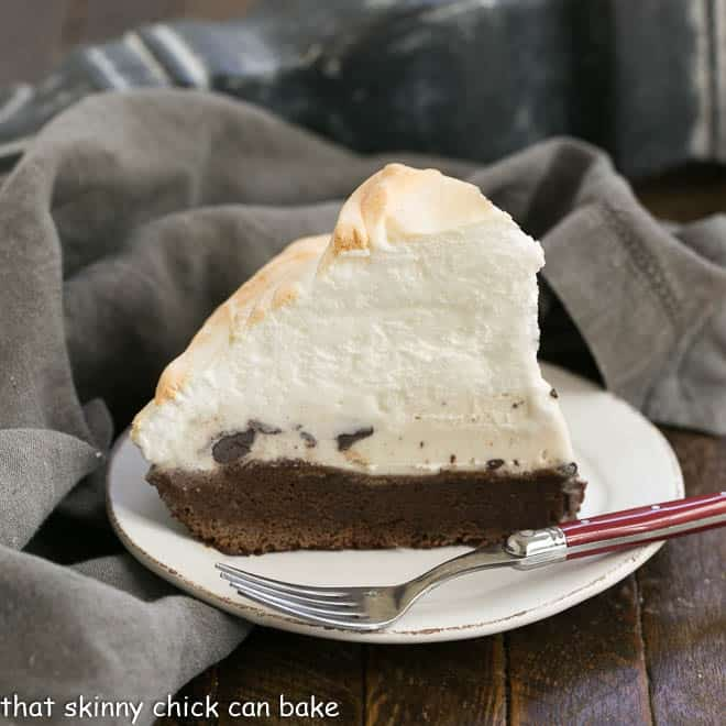 Brownie Baked Alaska featured image