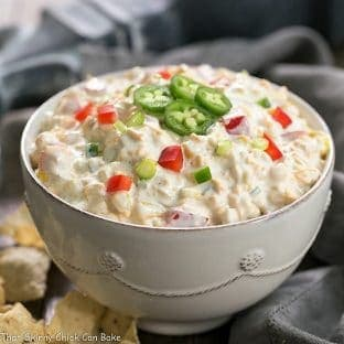 Sour Cream Corn Dip - A strange combo, but EVERYONE wants the recipe!