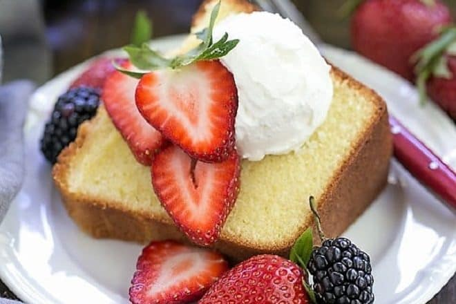 The Best Pound Cake feature image