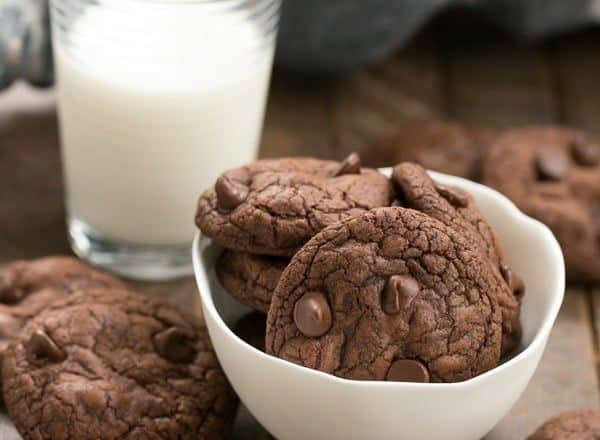 Triple Chocolate Cookies | The epitome of chocolate decadence in a small package!