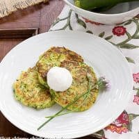 Zucchini Fritters | Tender and delectable appetizer!