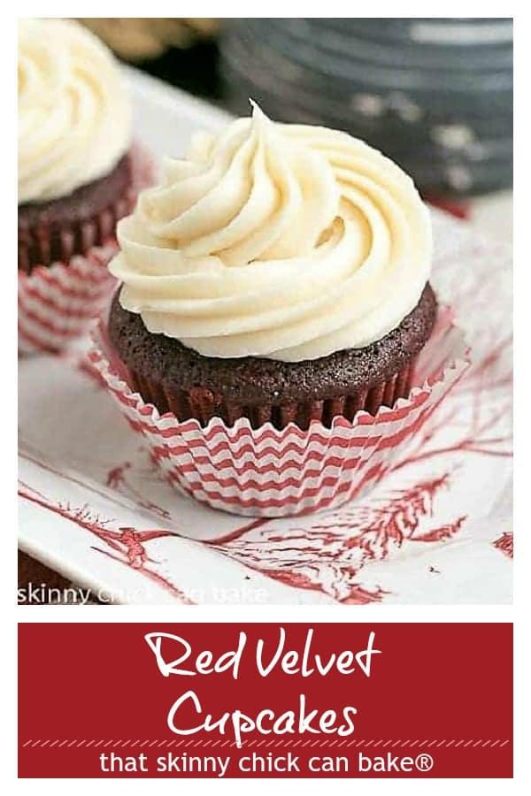Red Velvet Cupcakes Pinterest collage