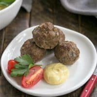 Grilled Beef Meatballs with Indian Yogurt Sauce featured image