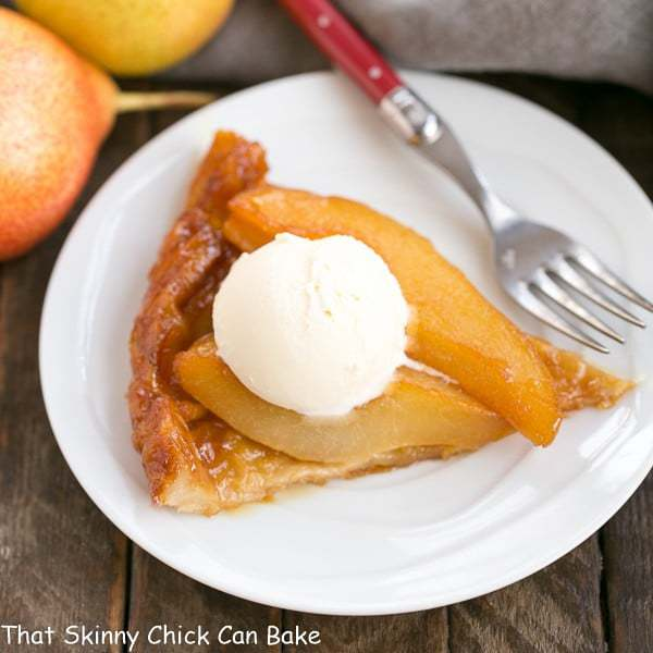 Pear Tarte Tatin | A twist on the classic French dessert