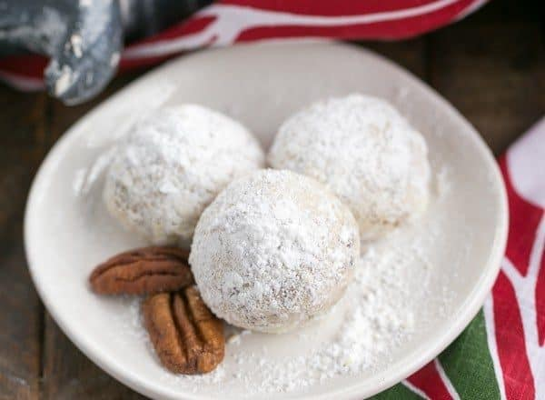Pecan Snowballs | The classic melt in your mouth holiday cookie known by many names!