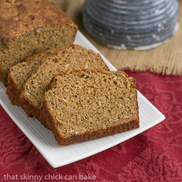 Irish Brown Bread | A hearty, healthy quick bread recipe