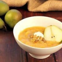 Spiced Squash, Fennel and Pear Soup