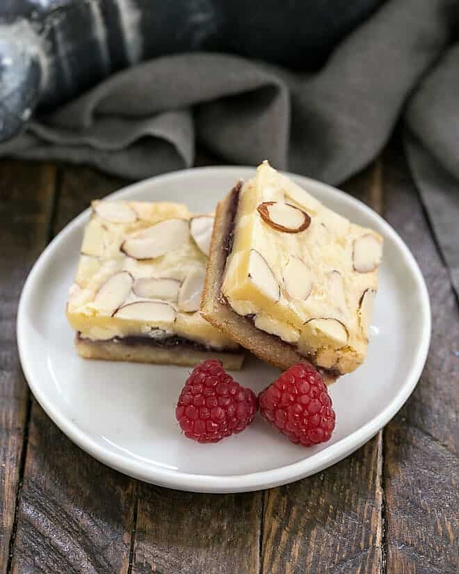 Raspberry Filled White Chocolate Bars