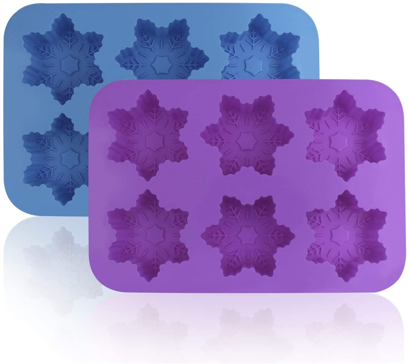 Silicone Snowflake Molds