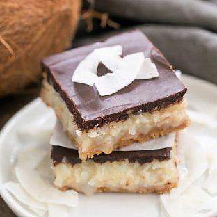 Coconut Mounds Bars featured image