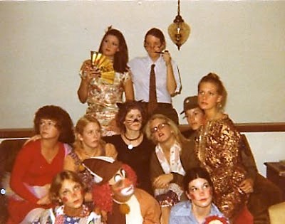 High school Halloween party 1978