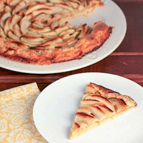 Apple Crostata - An easier way to enjoy the taste of apple pie! And just as delicious!!!