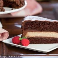 Candy Bar Cheesecake | That Skinny Chick Can Bake