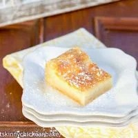 Gooey Bars   A totally homemade version of the classic Gooey Butter Bars
