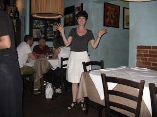 Liz in Quattro Leoni, Florence, Italy