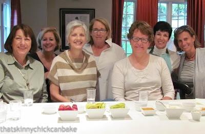 Baker friends over to taste test pumpkin creme brulee